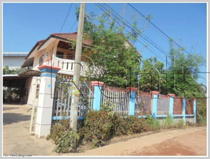ID: 2972 - House close to National university of Laos for Rent