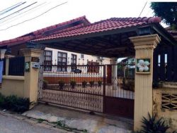 ID: 3252 - The Cute Modern villa in Mekong community near Airport for rent