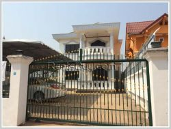 ID: 3072 - The house near airport for rent & sale in Sikhottabong district