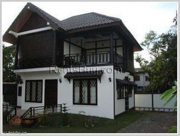 ID: 3967 - Nice house near Mercure Hotel for rent in Sikottabong District