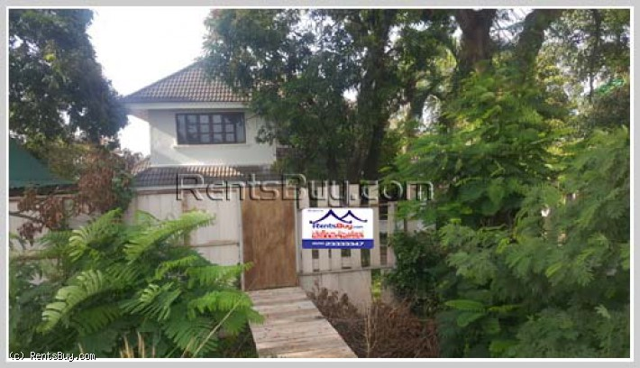 ID: 4067 - Nice house by pave road and near Mekong River for rent