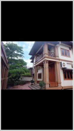 ID: 4117 - The beautiful house with large parking and fully furnished for rent