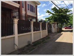 ID: 4122 - Modern house by pave road close to Watty International Airport for Rent
