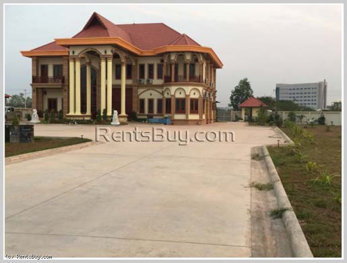 ID: 4003 - The luxury house near National University of Laos for rent in Sikhottabong distric