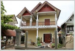 ID: 3156 - New two-storey house about 2 km drive to Northern Bus Station for rent in Sikhottabong Di