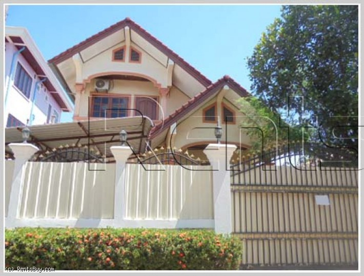 ID: 2859 - Fully furnished house for rent by good access