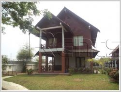 ID: 3013 - Lao style house with large yard for rent in diplomatic area