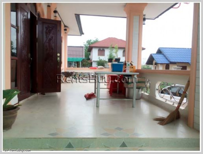 ID: 3193 - New house for rent with fully furnished in quiet area.
