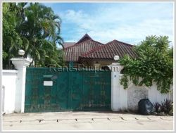 ID: 3259 - Private family living! The house for rent in diplomatic area.