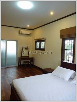 ID: 3221 - The modern house with swimming pool and fully furnished for rent