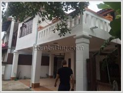 ID: 3214 - The house in town with fully furnished for rent in Saysettha district