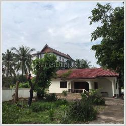 ID: 617 - The niece villa house in town by good access for sale in Sisattanak district