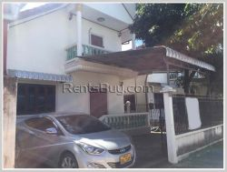 ID: 3381 - The nice house near M-point mart with fully furnished for rent in Sisattanak district