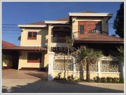 ID: 3484 - Modern house for rent with fully furnished in diplomatic area