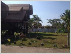 ID: 1759 - Beautiful modern lao style house for rent