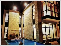 ID: 3529 - New luxury house with fully furnished and swimming pool for rent