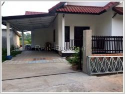 ID: 125 - Pretty house with fully furnished next to concrete road for rent in diplomatic area