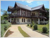 ID: 2872 - New Lao style house with fully furnished for rent