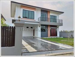 ID: 4328 - The Modern design house near Local market in Ban Donkoy for rent