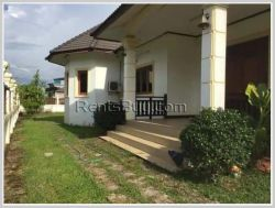 ID: 2212 - One floor house with large yard near Sengdara Fitness for rent