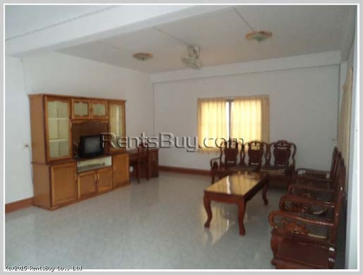 ID: 1656 - Nice house for rent with some furnished by pave road