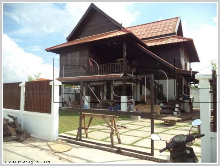 ID: 2666 -New Lao Style house in diplomatic area