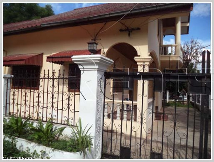 ID: 2525 - Small villa house in quiet area near Kiettisack international school