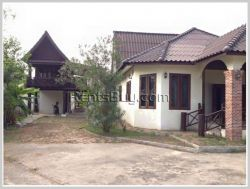 ID: 3041 - Pretty house with fully furnished for rent in Sisattanak district