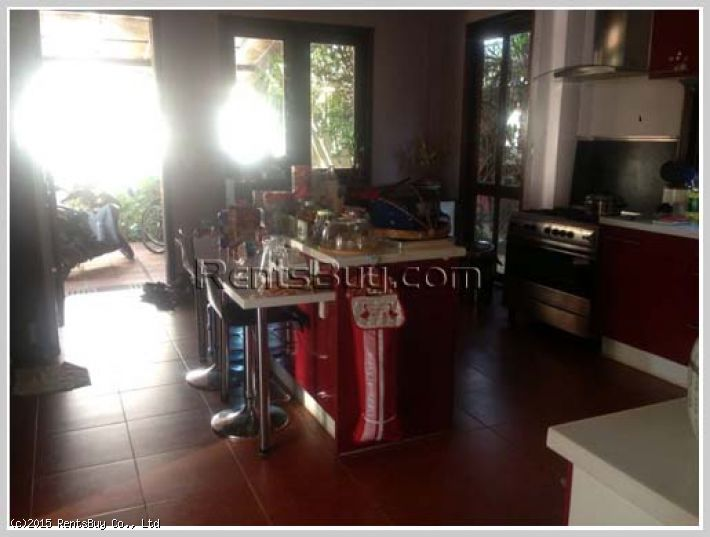 ID: 1963 - Luxury Lao style house near Russian Embassy for sale