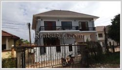 ID: 4327 - Modern house for rent in Ban Dongsavath