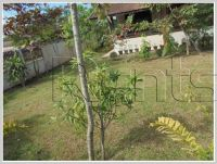 ID: 2991 - Lao style house with fully furnished and large garden for rent