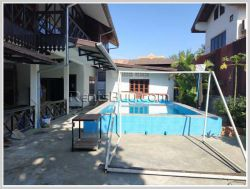 ID: 2197 - Lao quality house with swimming pool in diplomatic area