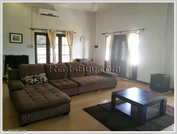 ID: 4166 - The beautiful house with fully furnished and large garden for rent near Law School