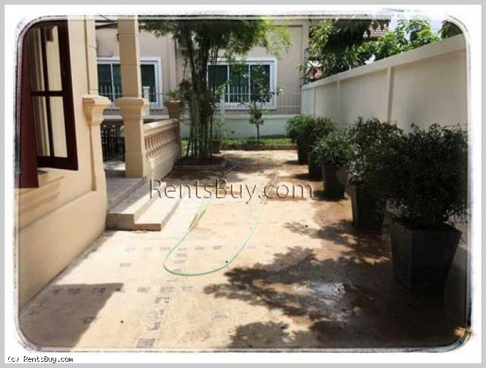 ID: 3718 - The Modern and Adorable house near VIS with fully furnished for rent