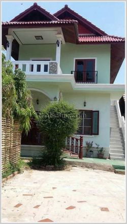 ID: 4112 - Modern house near Mekong River and Embassy of Australia for rent