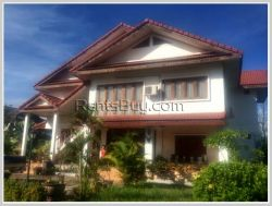 ID: 3443 - Nice two storey house for rent near Thailand Consular Section.