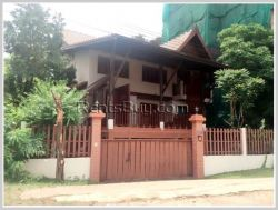 ID: 3587 - Lao style house near Mekong River for rent