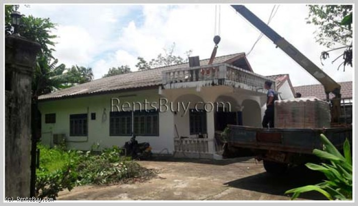 ID: 695 - For small family living ! House for rent in diplomatic area