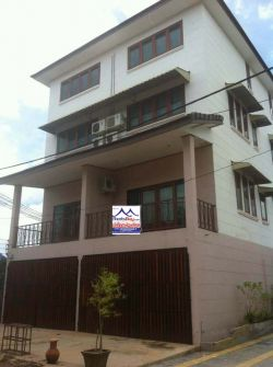 ID: 4500- Shop house near Loungloth Restaurant for rent in Ban Thongphanthong
