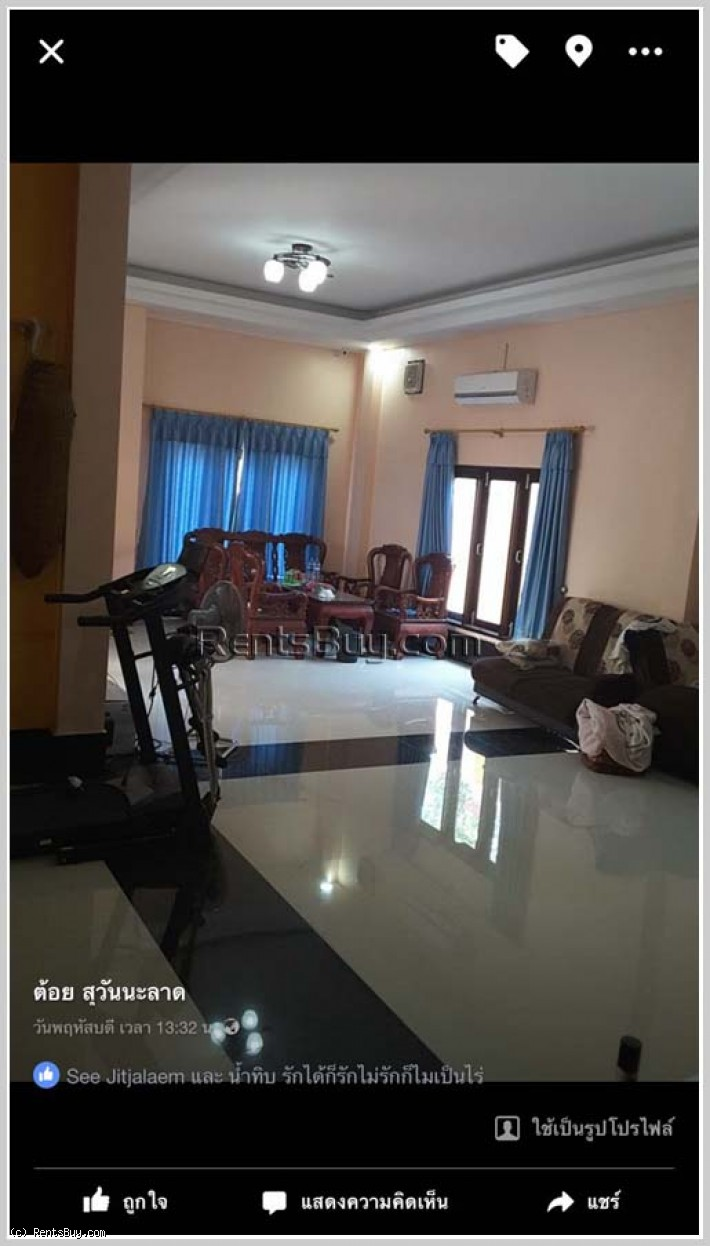 ID: 3602 - Contemporary house by pave road and fully furnished for sale