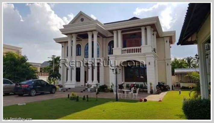 ID: 4286 - Huge and luxury house in Thongsangnang Village for sale