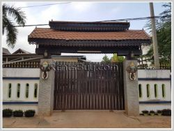 ID: 3976 - The Lao style house for sale next to Xangpheuk Wedding Convention Hall