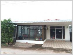 ID: 3458 - Nice house for sale by pave road, 2,5Km to Lao-Thai Friendship Bridge