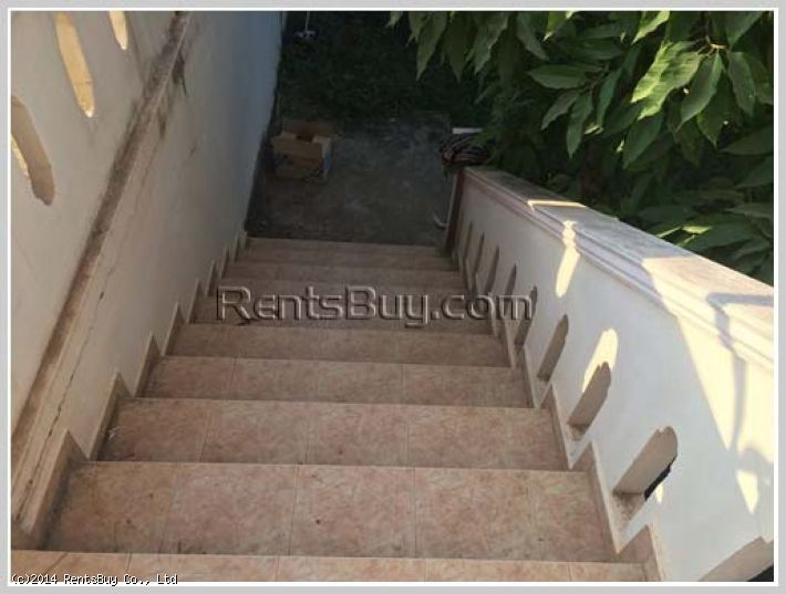 ID: 326 - Fully furnished house for rent by main road near Friendship bridge
