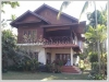 ID: 482 - Luxury Lao style house with fully furnished for sale by mekong river