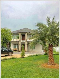 ID: 4104 - Adorable house with large garden for rent in Ban Nonghai