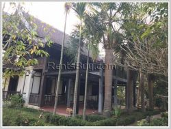 ID: 3961 - Contemporary Lao style house in Luangphrabang near Mekong River for sale