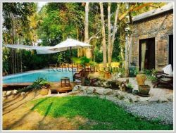 ID: 3989 - Affordable villa with swimming pool by National road 13 south of Luangprabang Province