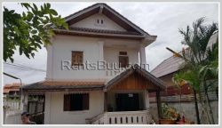 ID: 3768 - Nice house in town with good view for sale in Laungphrabang Province
