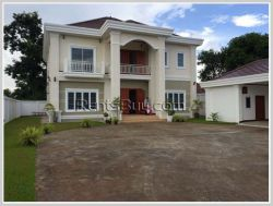 ID: 4188 - Modern house with nice garden by national road 13 at Donnoun for sale
